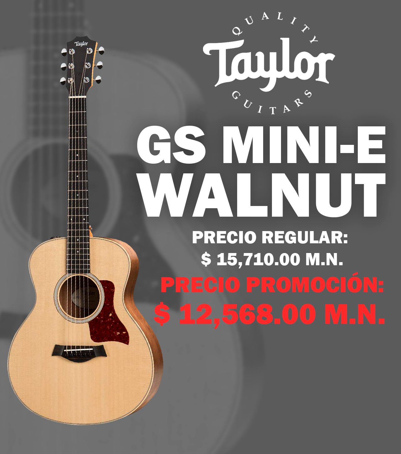 GS MINI-E Walnut Karma Music